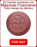 Maquinas Financieras para Manejo de Efectivo en Garetto