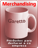 Productos de Merchandising en Garetto